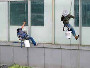 mytí oken a výloh