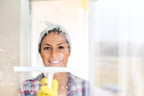 přípravky na mytí oken