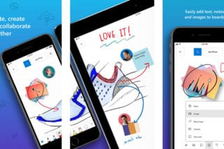 Microsoft Releases Whiteboard App for iOS