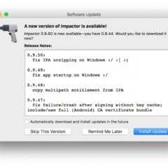 Saurik Updates Cydia Impactor to Fix IPA Unzipping Issue
