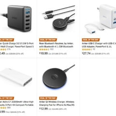 Anker Year-End Sale on Chargers and Accessories [Deal]