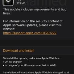 Apple Releases watchOS 5.1.3 [Download]