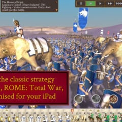 ROME: Total War for iOS Updated With 8 More Playable Factions, Support for 11-inch iPad Pro, More