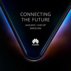 Huawei Teases Foldable Smartphone Unveiling on February 24, 2019 [Image]