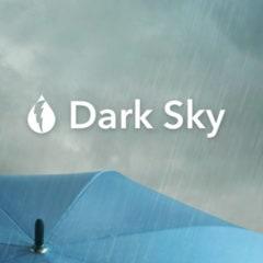 Dark Sky Weather App Gets Dark Mode