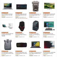 Acer Monitors, Keyboards, Mice, Laptops On Sale for Up to 30% Off [Deal]