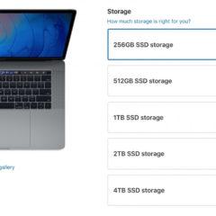 Apple Drops Mac SSD Upgrade Pricing