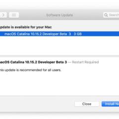 Apple Releases macOS Catalina 10.15.2 Beta 3 [Download]