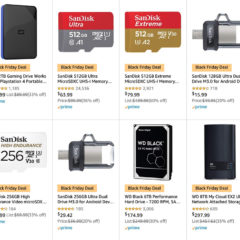 Big Discounts on SanDisk and WD Storage in Early Black Friday Deal