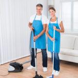 Skvělé strojové čištění, podlaha zase jako nová