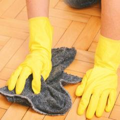 Impregnační vrstva zabrání, aby se podlaha trvale znečistila.