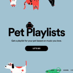 Spotify Launches Playlist Generator for Pets
