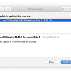 Apple Releases macOS Catalina 10.15.3 Beta 3 [Download]