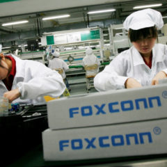Foxconn Hopes to Reach 50% Production in China By Month's End