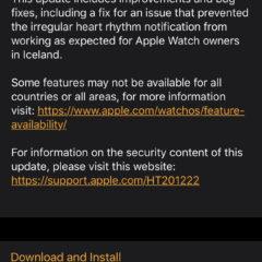 Apple Releases watchOS 6.1.3 for Apple Watch [Download]
