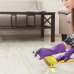 typy jak vyčistit podlahu