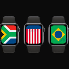 Apple to Introduce New 'International' Flag Watch Face in watchOS 7