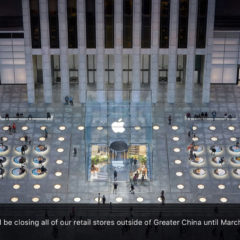 Apple Announces Closure of All Retail Stores Outside China Until March 27