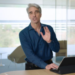 Craig Federighi Demos New iPad Pro and Magic Keyboard [Video]
