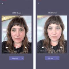 Microsoft Teams App for iOS Gets Background Blur