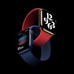 Apple Unveils New Apple Watch Series 6 Featuring Blood Oxygen Sensor