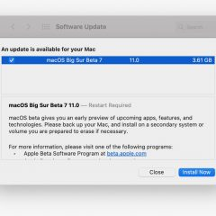 Apple ReleasesmacOS 11 Big Sur Beta 7 [Download]