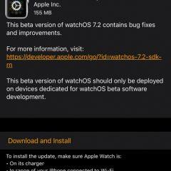Apple Seeds watchOS 7.2 Beta 2 to Developers [Download]