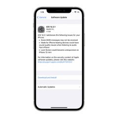 Apple Releases iOS 14.2.1 for iPhone 12/Pro/Max/mini [Download]