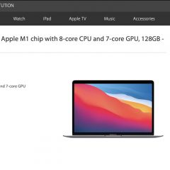 Apple Offers 128GB M1 MacBook Air to Educational Institutions for $799