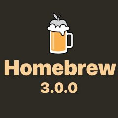 HomeBrew 3.0 Released With Apple Silicon Support