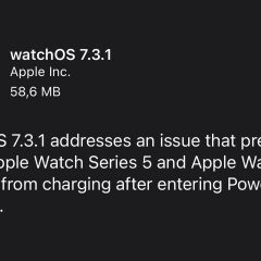 Apple Releases watchOS 7.3.1 With Charging Fix