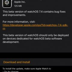 Apple Seeds watchOS 7.4 Beta 6 to Developers [Download]