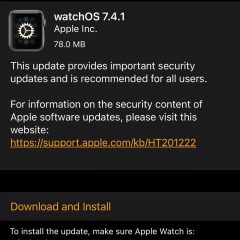 Apple Releases watchOS 7.4.1 for Apple Watch [Download]