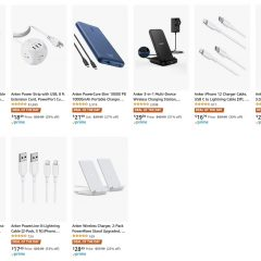 Anker Chargers, Power Banks, Cables On Sale for Up to 38% Off [Deal of the Day]