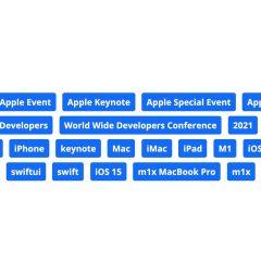 Apple Tagged WWDC 2021 Keynote Stream With 'M1X MacBook Pro' [Image]